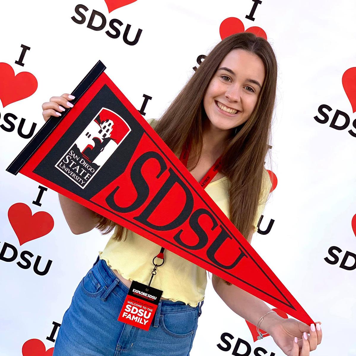 Alexandra at SDSU